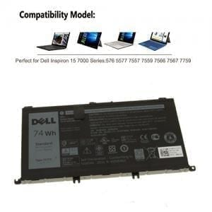 Dell Inspiron 15 7559, Inspiron I7559 11.4v 74wh Battery 071JF4 71JF4