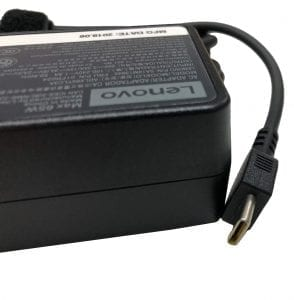 Lenovo 65W 20V 3.25A Standard USB Type-C AC Adapter Charger – 4X20M26274