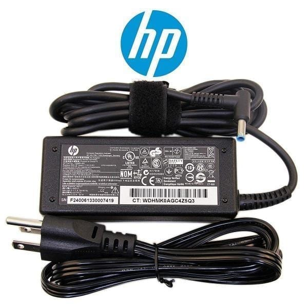 HP original 65w 4.5mm Charger For Pavilion, Elitebook, Probook, X360 series laptop
