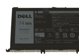 Dell Inspiron 15 7566 7567 7557 5576 5577 11.4v 74wh 6 cell Battery 071JF4 71JF4
