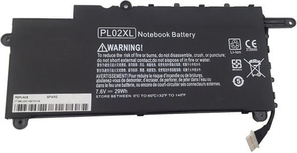 hp pl02xl battery