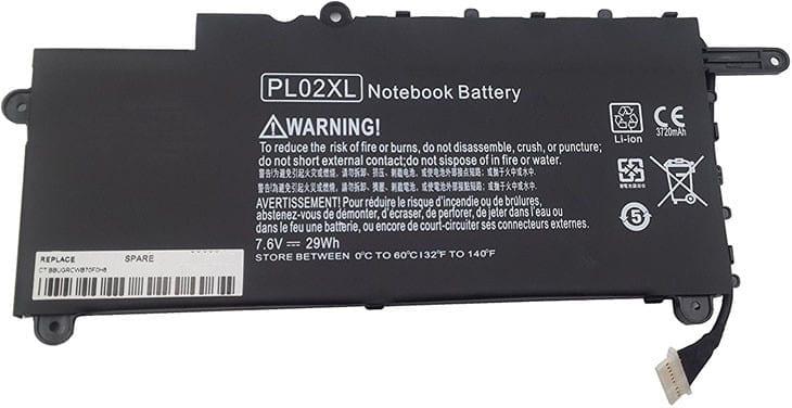 hp pl02xl battery