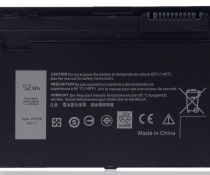 Dell OEM Original Latitude E7240 / E7250 4-cell Laptop Battery 45Wh – WD52H