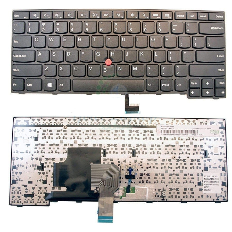 Replacement Keyboard For Lenovo Thinkpad E450 E455 E450C T450 W450 US Layout