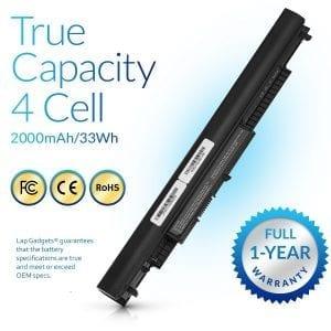 HS04 807956-001 807957-001 Laptop Battery Replacement for HP 240 G4 / 245 G4 / 250 G4 / 255 G4 / Pavilion 14-AC / 14-AF / 15-AC / 15-AF Series Notebook 14.8V 2200mAh