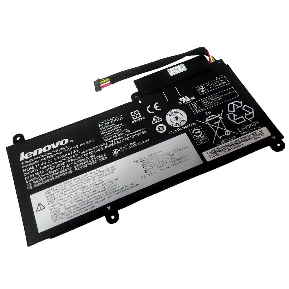 Lenovo ThinkPad E450 E450C E460 battery FRU: 45N174 45N1755 11 4V 4 12Ah  47Wh