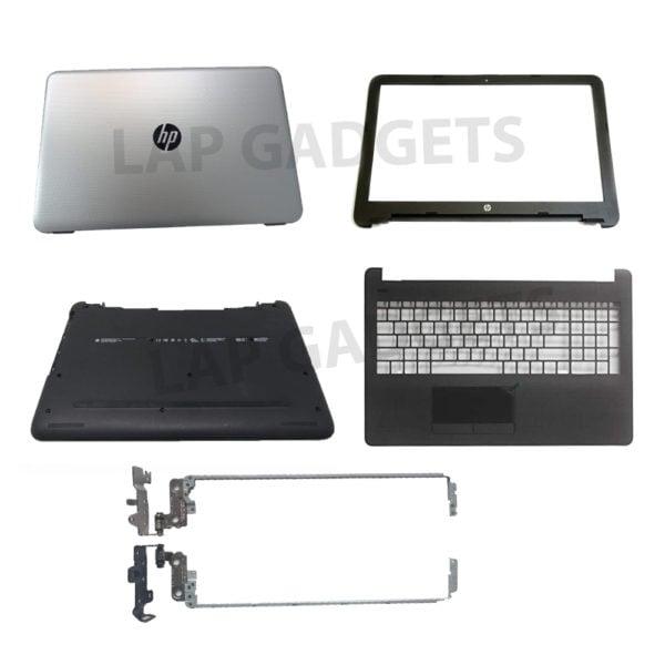 new for hp 250 255 256 g4 15 ac ay 15 af laptop lcd back cover front bezel lcd hinges palmrest bottom case 813926 001 816731 001