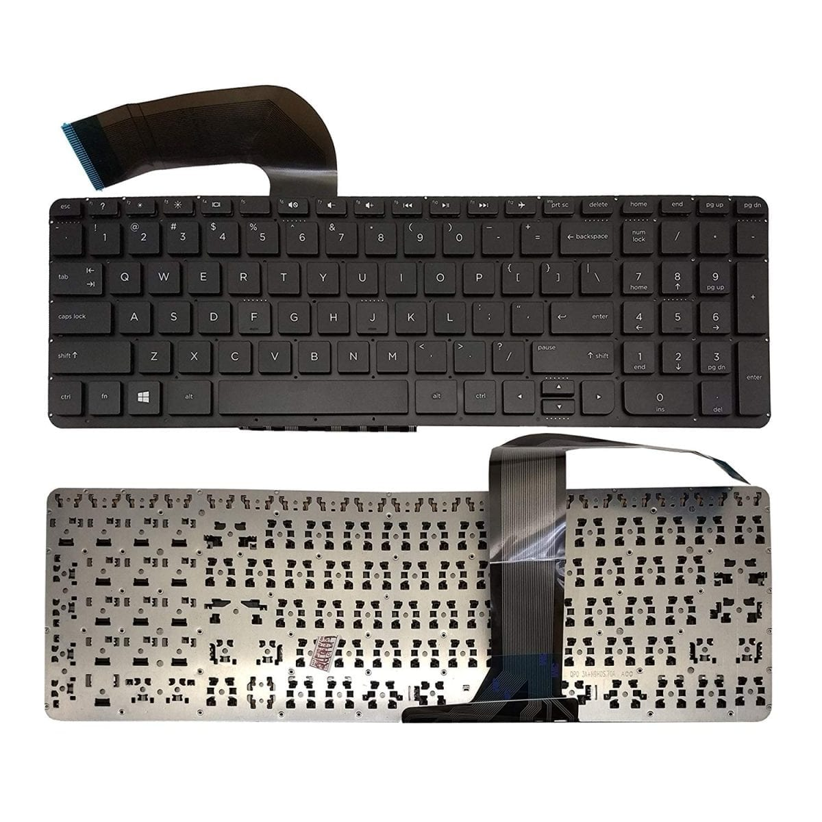 New US keyboard HP Pavilion 17-f131ds 17-f132ds 17-f133ds 17-f134ds 17-f135ds