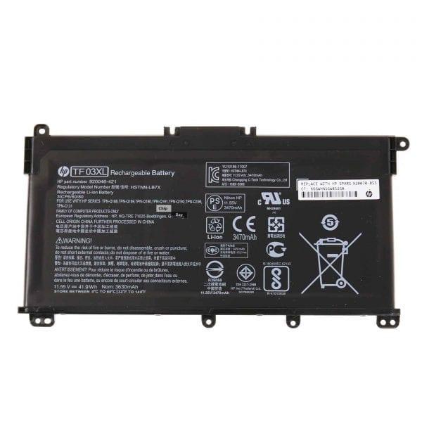 HP TF03XL battery for Pavilion X360 14-CD, Pavilion 14-BF, 14-BK, 15-CC, 15-CD, 15-CK