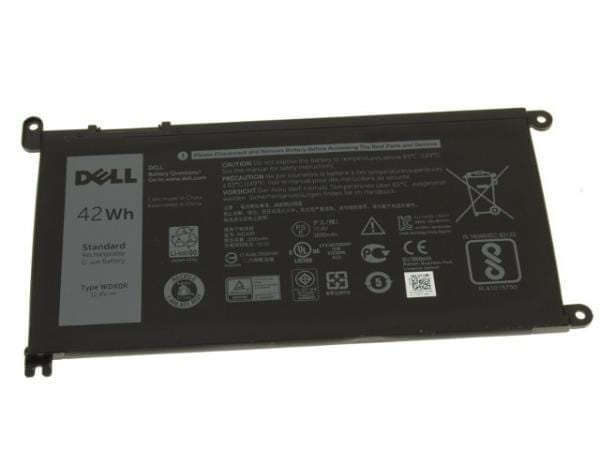Dell Inspiron 15 (5567) OEM Original Inspiron 15 (5568) / 13 (5368 / 5378) 42Wh 3-cell Laptop Battery - WDX0R w/ 1 Year Warranty