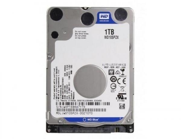 WD Storage WD 2018 New Blue 1TB 2. 5 inches Laptop Notebook Internal SATA 6Gb/s Hard Drive 9. 5mm Height 5400RPM Model WD10SPZX