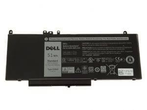 Genuine Dell 6MT4T Laptop Battery for Dell Latitude E5450 E5470 E5550 E5570 - TYPE 6MT4T 7.6V 62WH 7V69Y 6MT4T TXF9M 79VRK 07V69Y