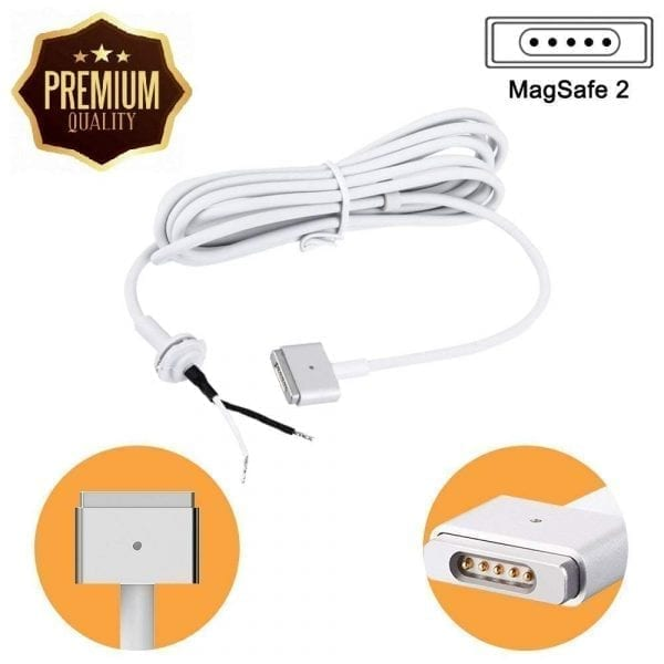 DC Repair Cord for MacBook AIR/PRO Retina Magsafe 2 45W 60W 85W AC Power Adapter