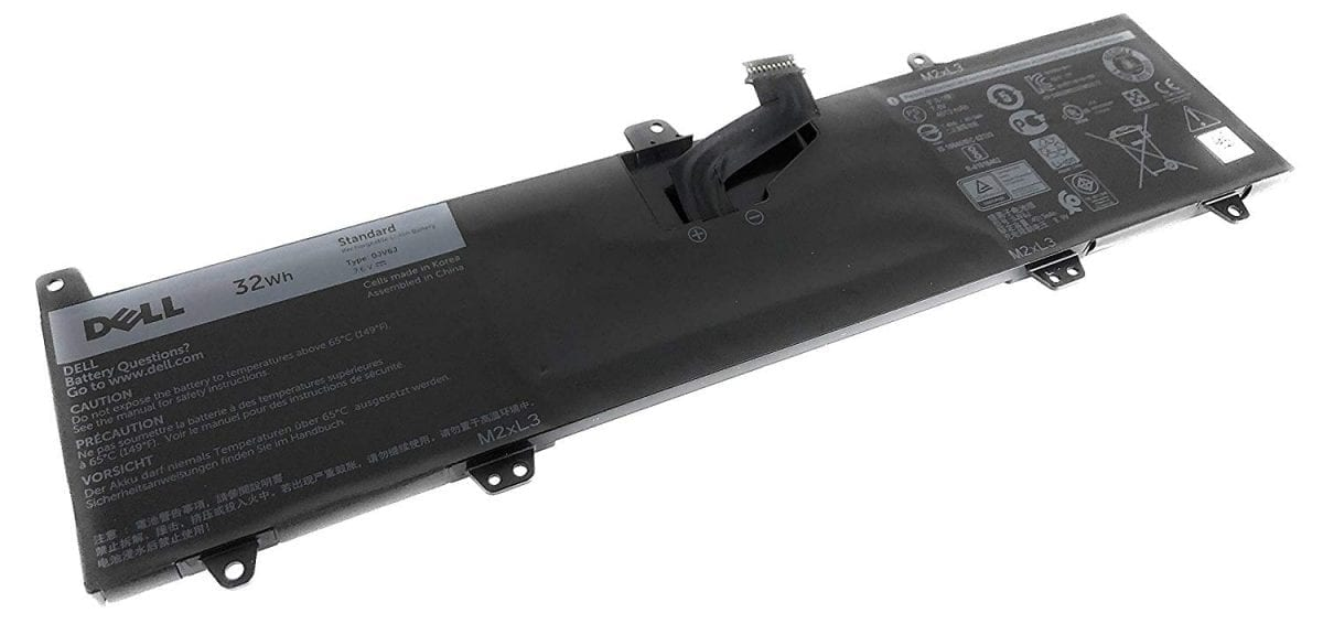 Dell 0JV6J (7.6V 32Wh) Inspiron 11 3162 Inspiron 11 3164 Inspiron 11 3168 Series Notebook 8NWF3 PGYK5 0PGYK5