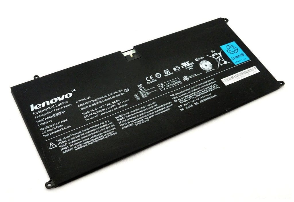 L10M4P12 Notebook Battery Compatible with Lenovo IdeaPad U300 U300S-IFI  Yoga 13 Type 2191Yoga13-IFI