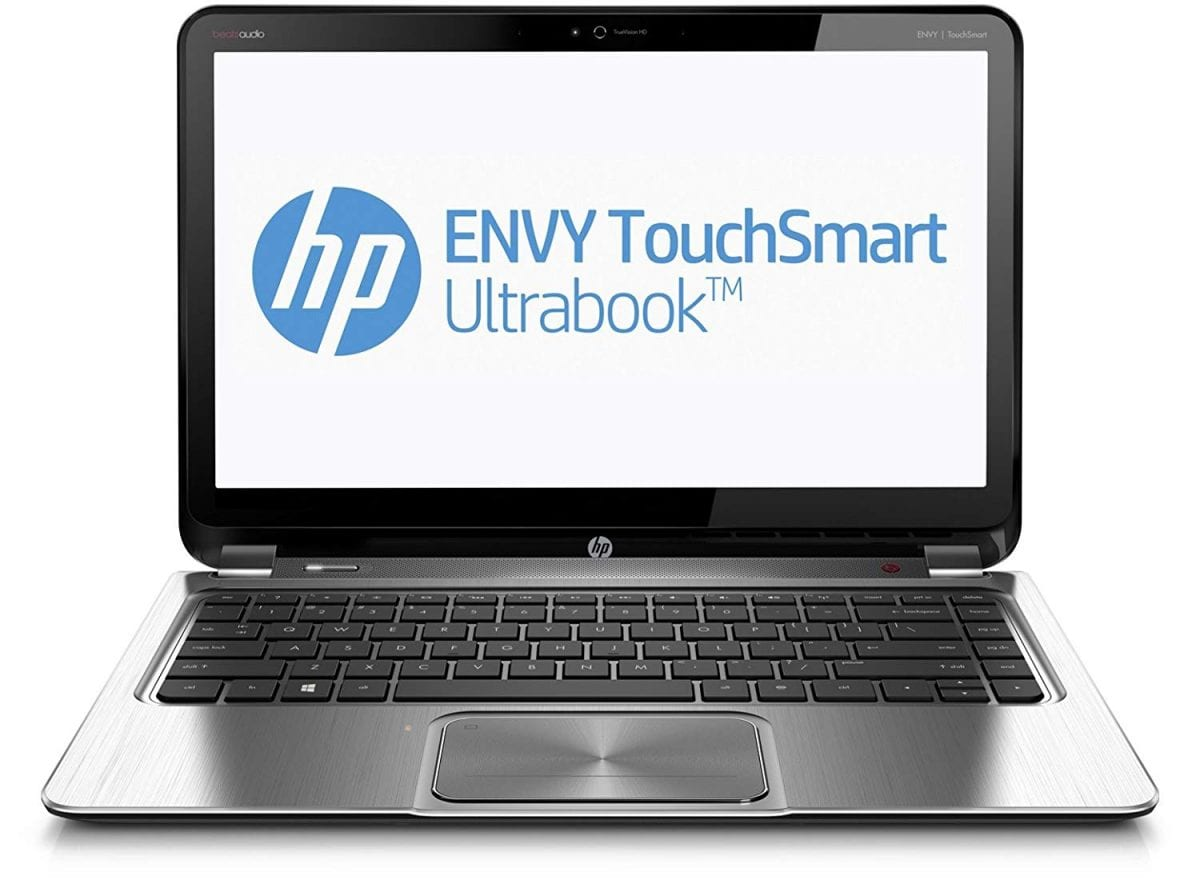 Used HP ENVY Sleekbook 6-1000 Series TouchPad With Cable