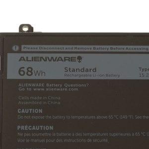 New Alienware 17 R4 / Alienware 15 R3 Original 4-cell Laptop Battery 68Wh - 44T2R