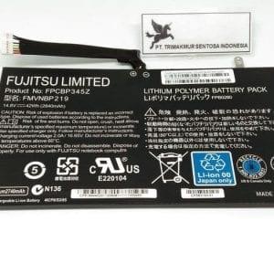 FPCBP345Z FMVNBP219 FPB0280 Battery Compatible for Fujitsu LifeBook UH572 Laptop 14.8V 42Wh 2840mAh