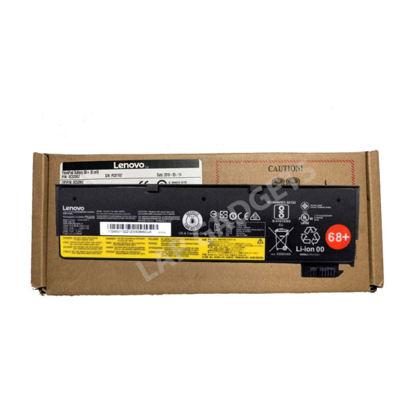 0c52862 Lenovo Thinkpad Battery 68+ (6 Cell) For L450 L460 T440s T440 T450 T450s T460 T460p T550 T560 P50s W550s X240 X250 X260