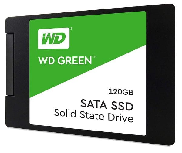 WD WDS120G2G0A 120GB 2.5-inch Internal SSD (Green)