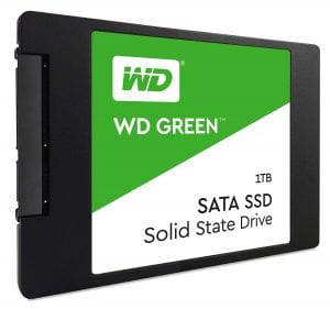 WD Green 1TB Internal SSD - SATA, 6 Gb/s, 2.5 inch - WDS100T2G0A