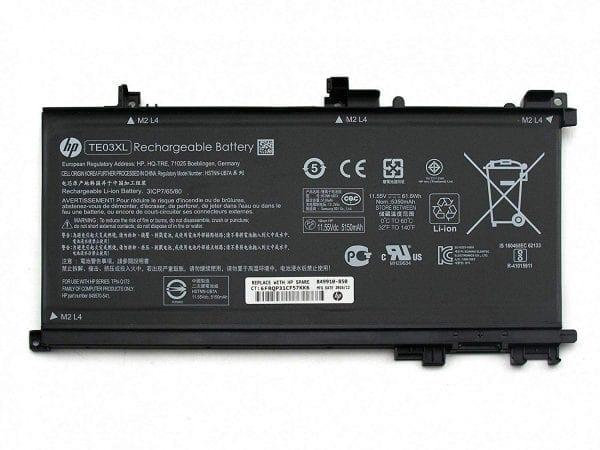 HP TE03XL (11.55V 61.6Wh) Pavilion 15-BC000 OMEN 15-AX000 Series Notebook