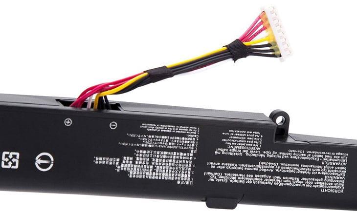 A41N1501 Replace for ASUS ROG GL752VW G752VW N552V N552VX GL752 N552 N752 Series Replacement Laptop Battery 0B110-00360000 0B110-00360100 A41LK9H L41LK2H