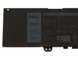 New 11.4V 38Wh/3166mAh 3-Cell F62G0 Laptop Battery Replace for Dell Inspiron 13 5370 7370 7373 7380 7386 Vostro 13-5370-D1505G Series Notebook F62GO RPJC3 39DY5