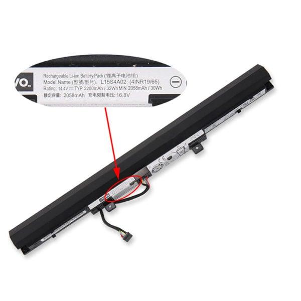 Lenovo L15S4A02 battery for Ideapad 110,110-15,110-15ISK,V110 V110-15AST, V110-15IAP, V110-15ISK, V310-14-15-ISK, V310-15ISK