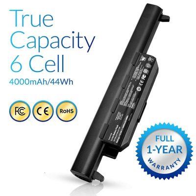 Laptop Battery A32-K55 for Asus Q500 Q500A R503U R503A R503C K55VD X75VD K75VM K75VD K75DE K55 K55N K55VM K45VS K45VJ K55DR K55VS R400 R500 R700 A32-K55X A33-K55 – [6 Cells/4400mAh/48Wh]