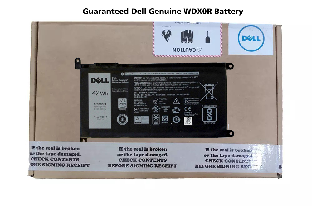 Dell Inspiron 15 (5567) Original Laptop Battery (11.4V, 42Wh 3-Cell)