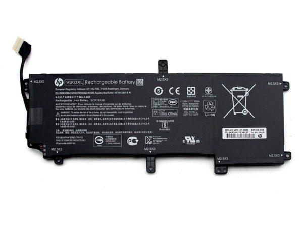 Original VS03XL, HSTNN-UB6Y, 849047-541, 849313-850 Battery for Hp Envy 15-AS series