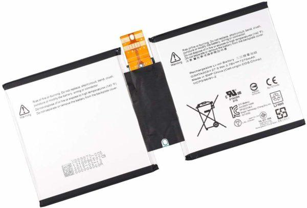 Microsoft Surface 3 1645 Surface 3 1657 Battery Replacement G3HTA003H, G3HTA007H, G3HTA004H