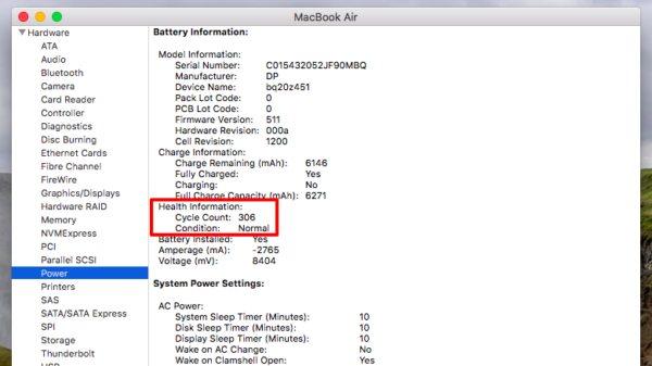 How to check laptop battery health in Windows & Macbook