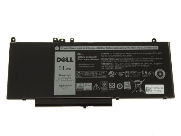 New Dell Oem Latitude E5450 E5550 4 Cell 51wh Original Laptop Battery G5m10