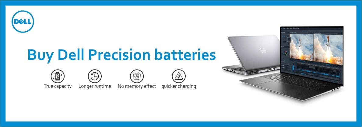Dell Precision Laptop Batteries